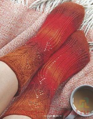 носки с бисером