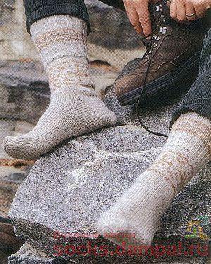 мужские носки с рисунком