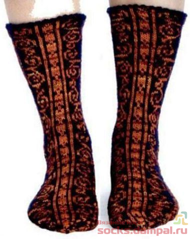 носки с рисунком
