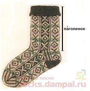 паголенок носка